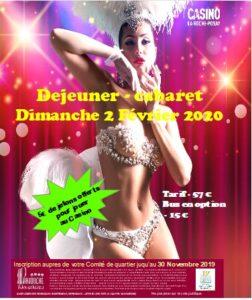 Sortie La Roche Posay (déjeuner - cabaret - casino) @ Casino La Roche Posay